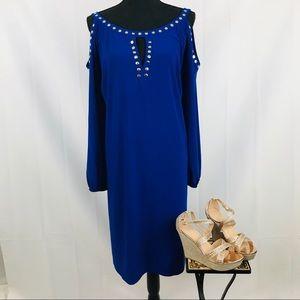 Emma & Michelle Plus Size 💋 Cold Shoulder Dress